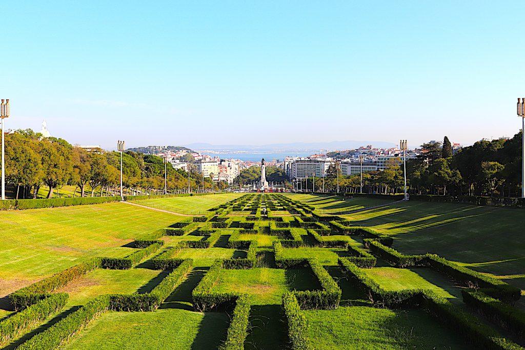 Parque Eduardo VII – park met uitzicht