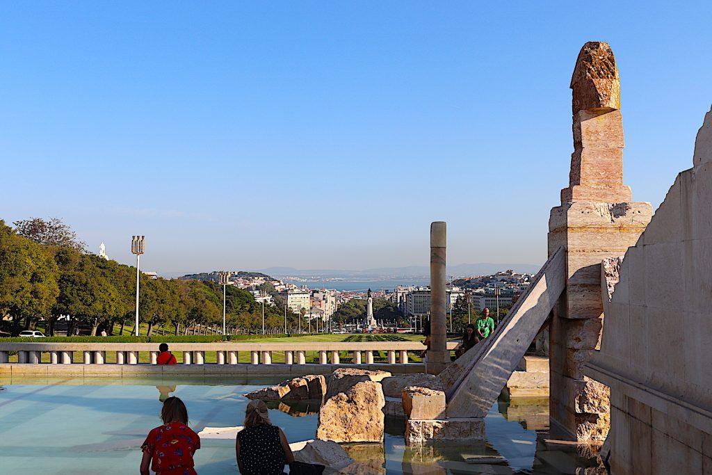 Parque Eduardo - uitzicht Taag