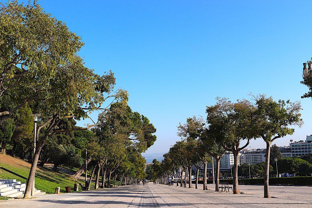 Parque Eduardo - voetpad
