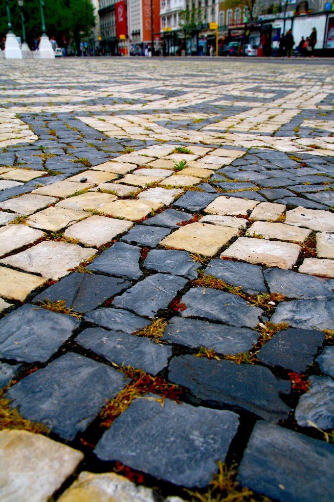 Staatmozaiek - stenen