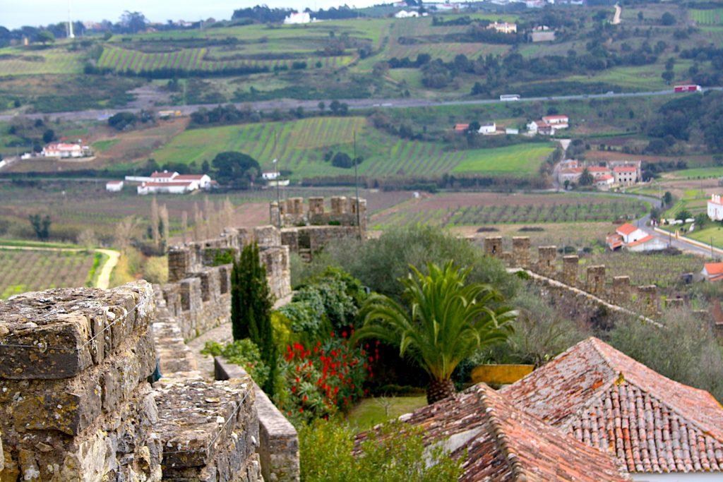 Obidos uitzicht kasteel