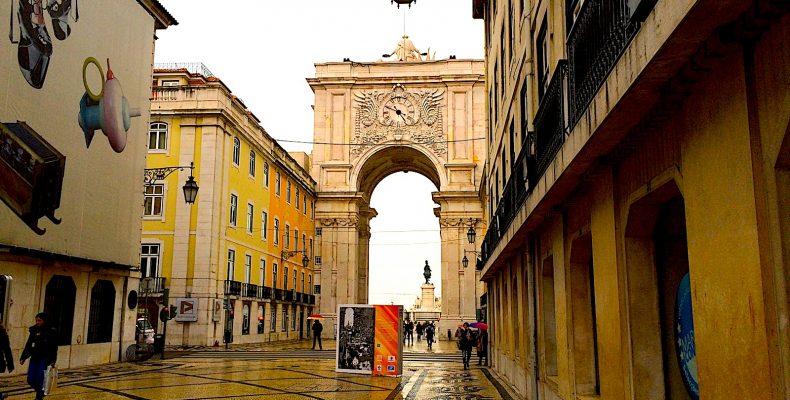 rua augusta arco