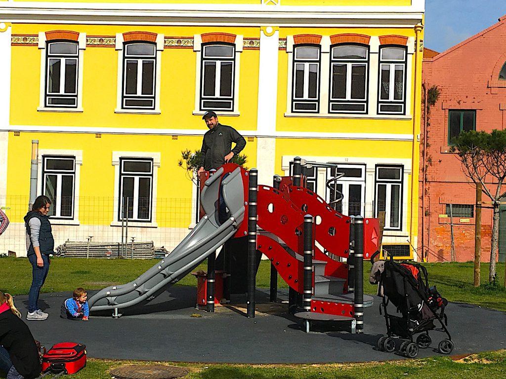 Campo dos Cabolas - speeltuin