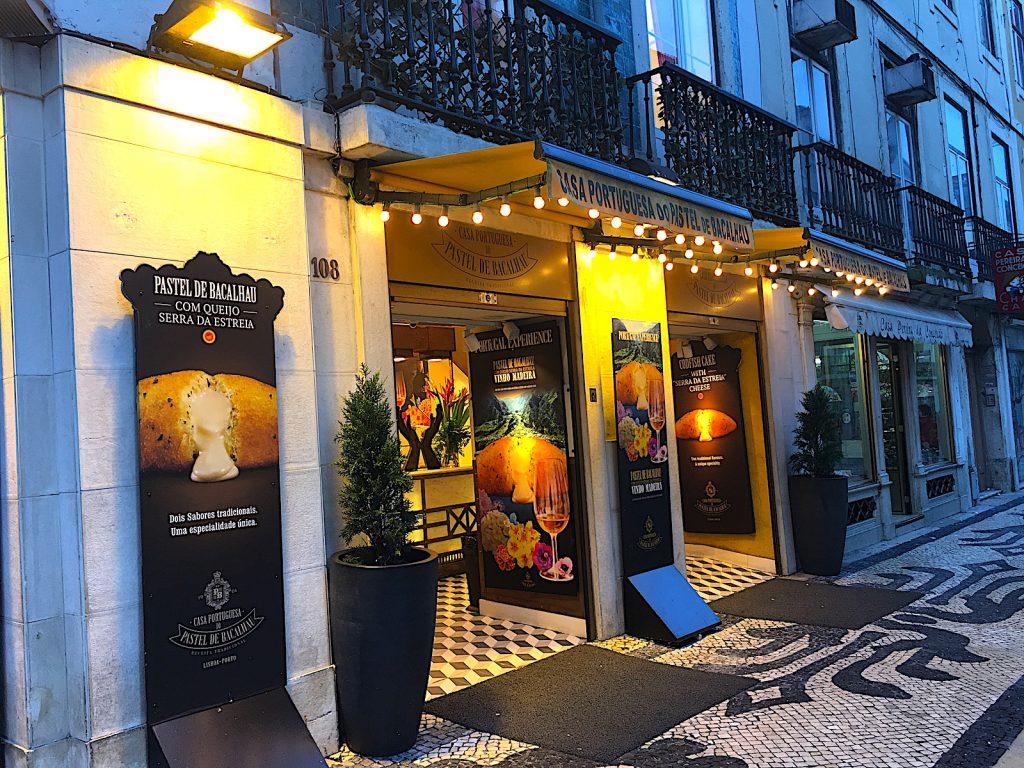 Casa Portuguesa do Pastel de Bacalhau – mit Käse!