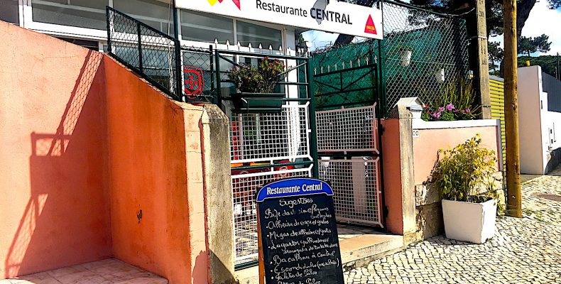 Ingang Restaurante Central, Colares