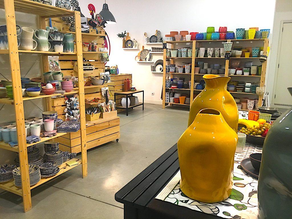 Ceramicas na linha - overzicht winkel