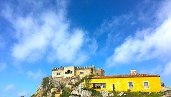 Convento da Peninha - paleis en kapel