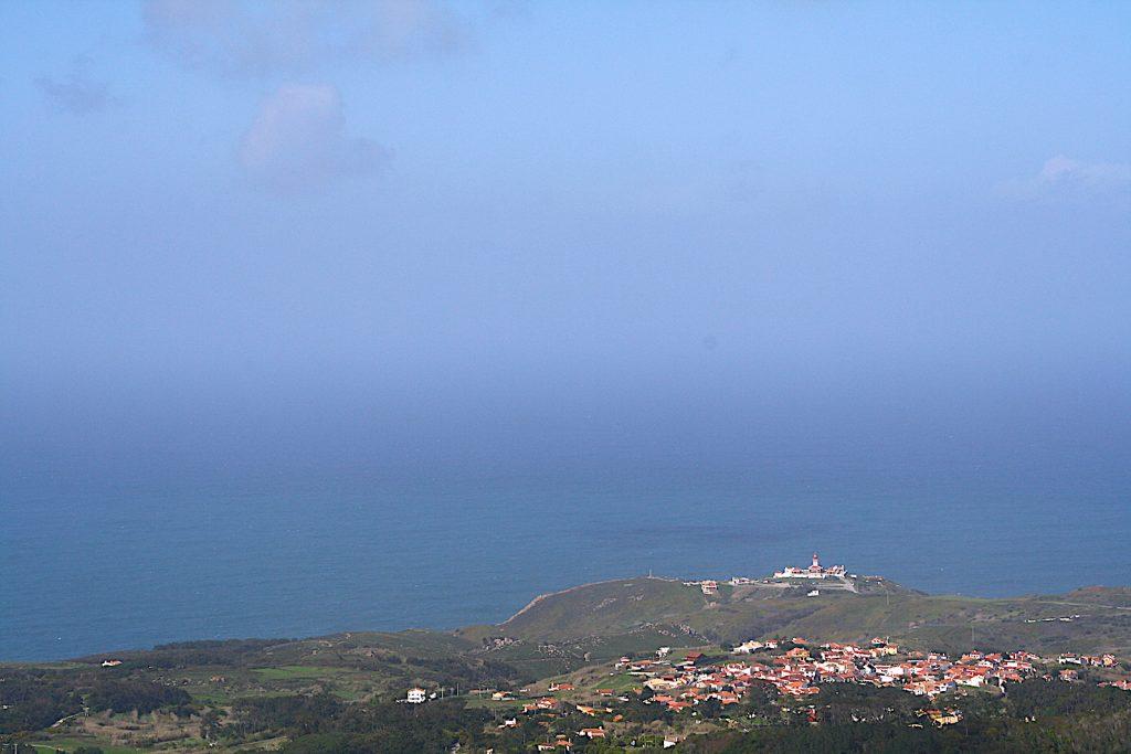 Convento da Peninha - uitzicht Cabo da Roca