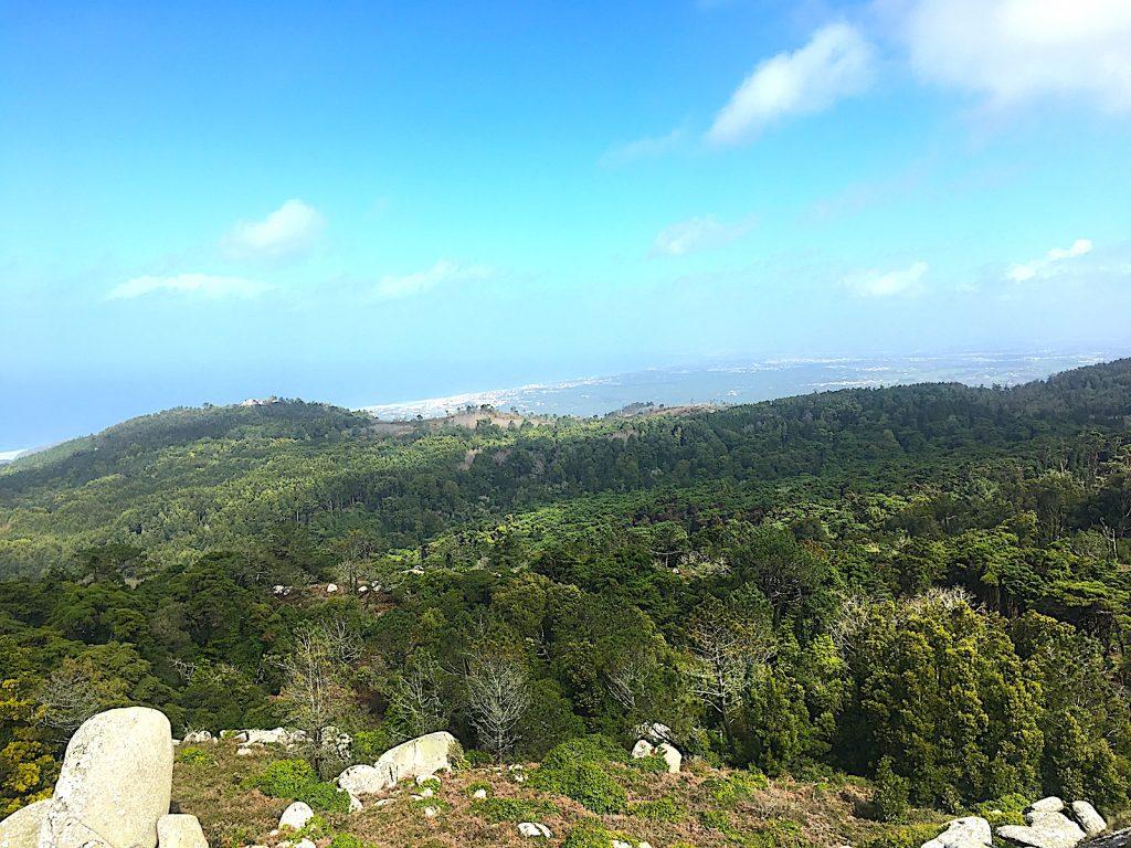 Convento da Peninha - uitzicht Pena