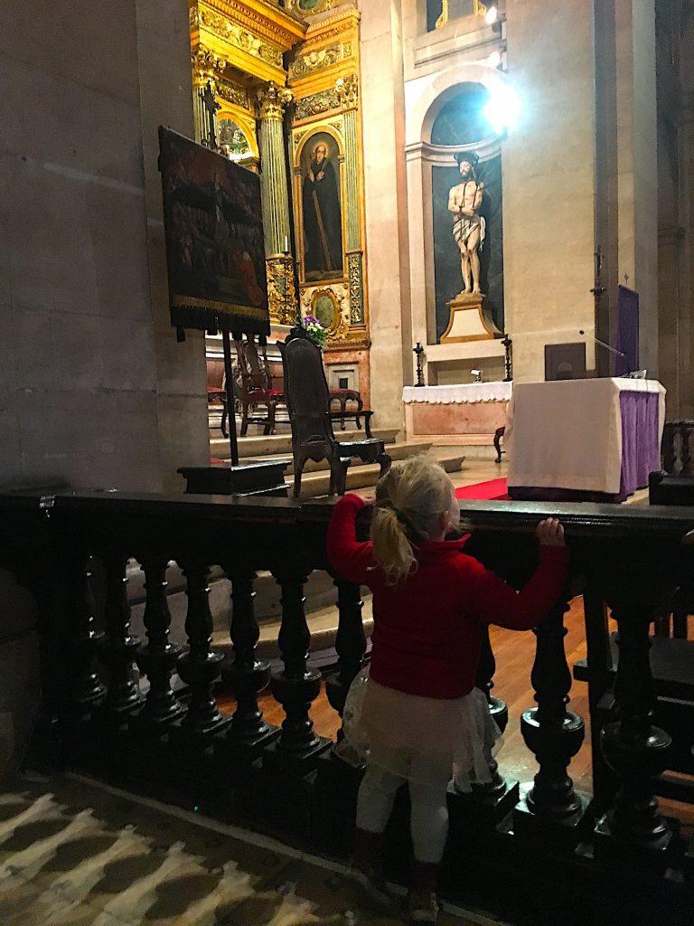 Igreja sao roque Lisboa altaar