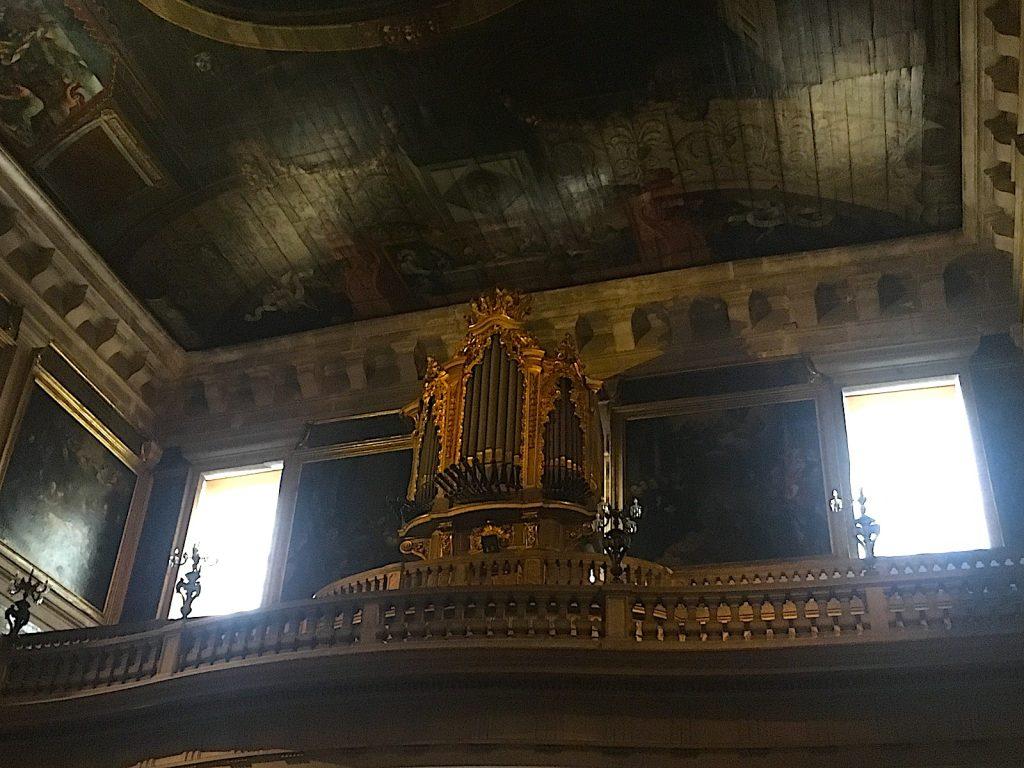 Igreja sao roque Lisboa orgel en plafond