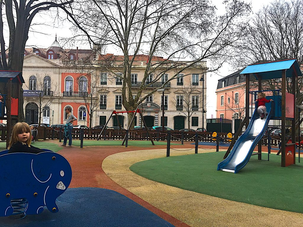 Jardim Principe Real - speeltuin