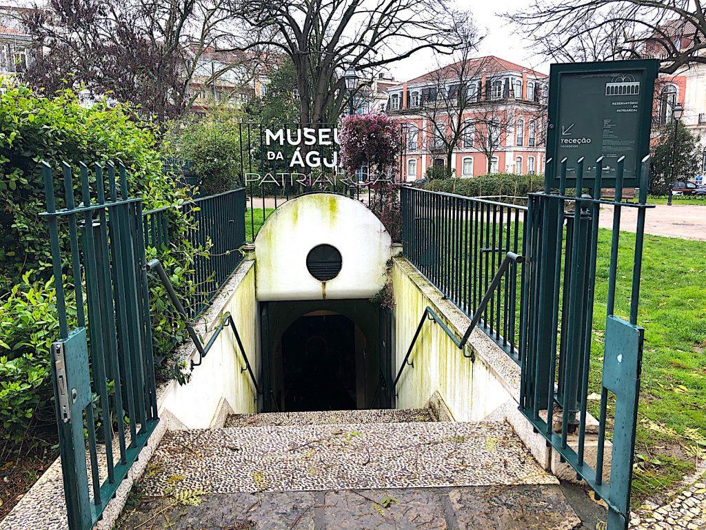 Jardim Principe Real ingang watermuseum
