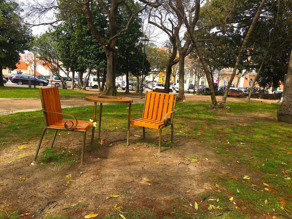 Jardim Principe Real - stoelen