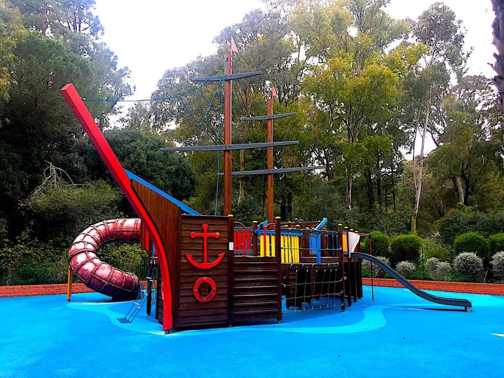 Parque Infantil do Alvito piratenboot