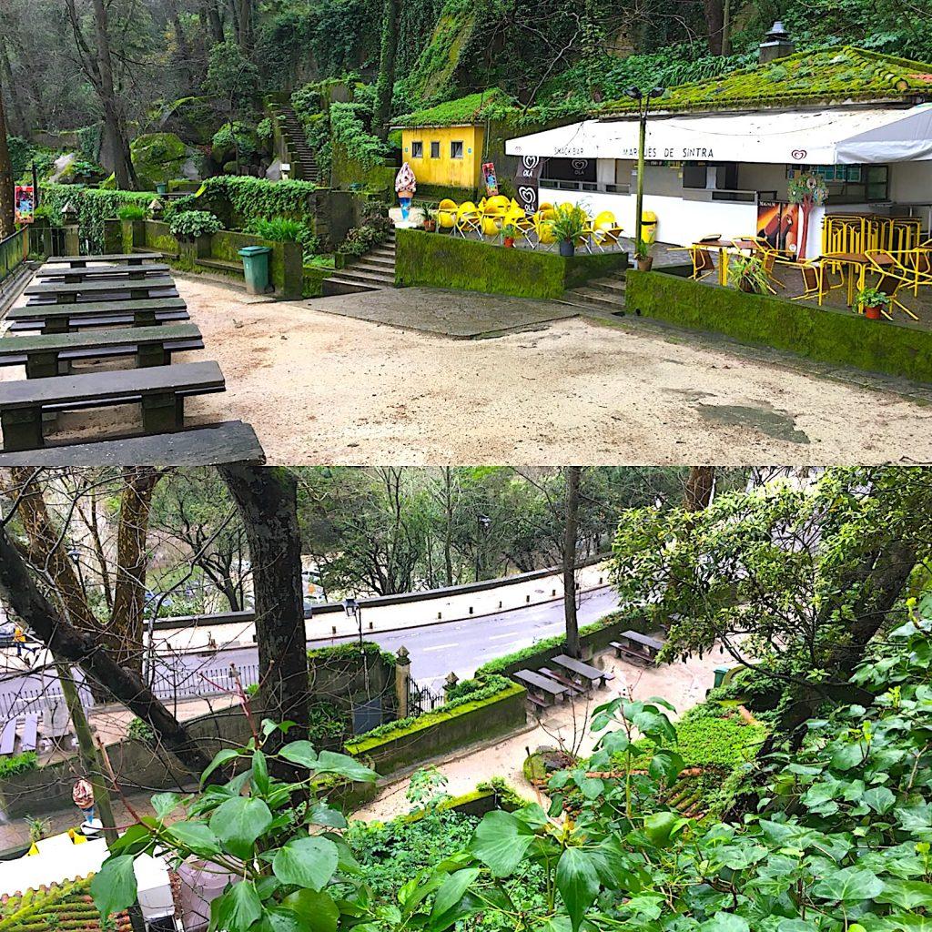 Parque da Liberdade Sintra - Mirante dos Castanheiros