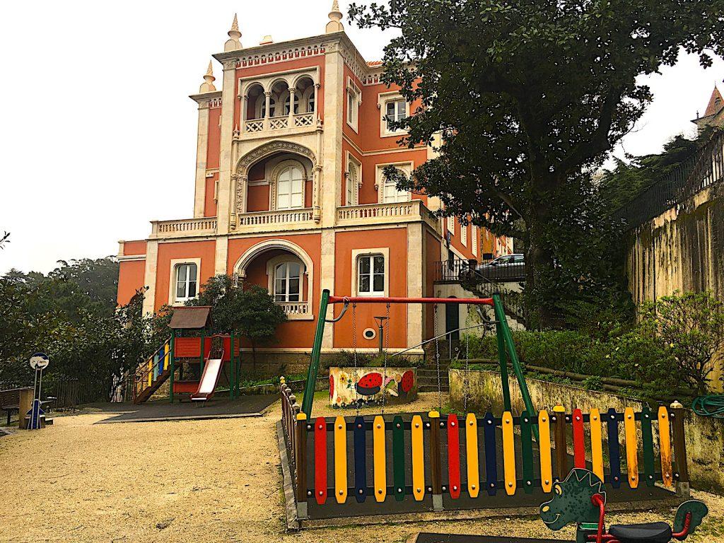Parque da Liberdade Sintra - speeltuin do Bico