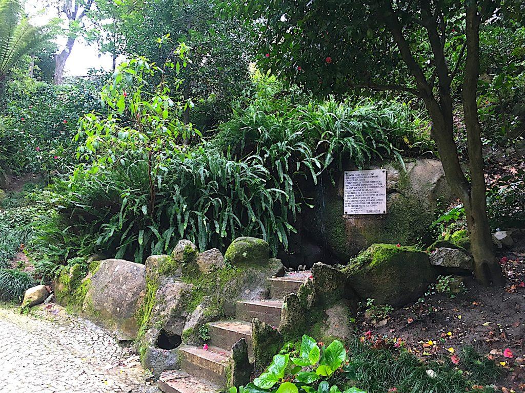 Parque da Liberdade Sintra - vijver