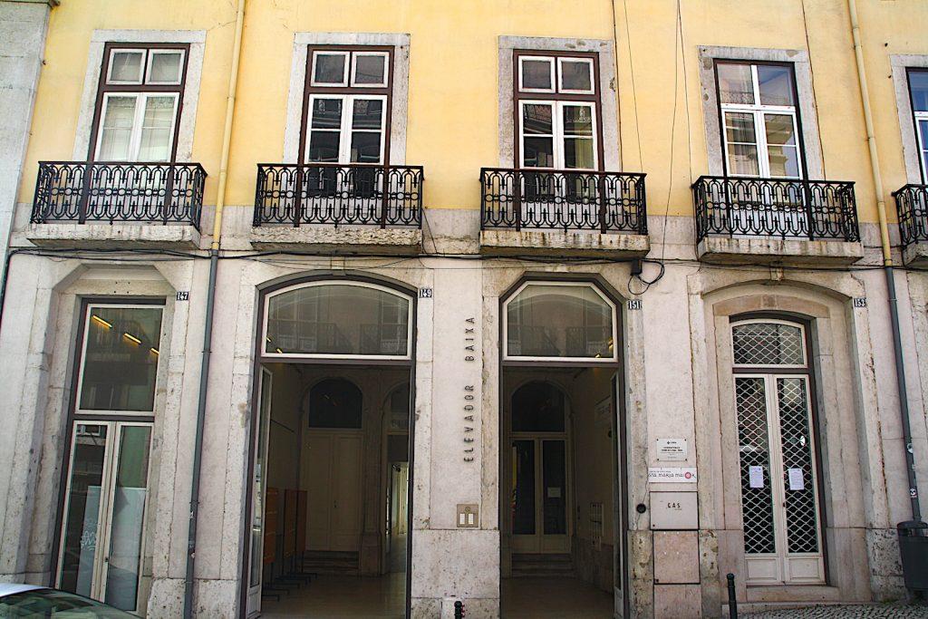 Elevador Castelo naar Baixa