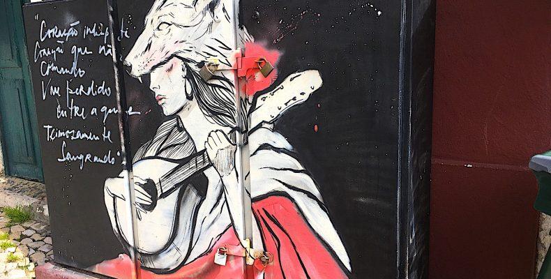 Fado Grafitti Alfama