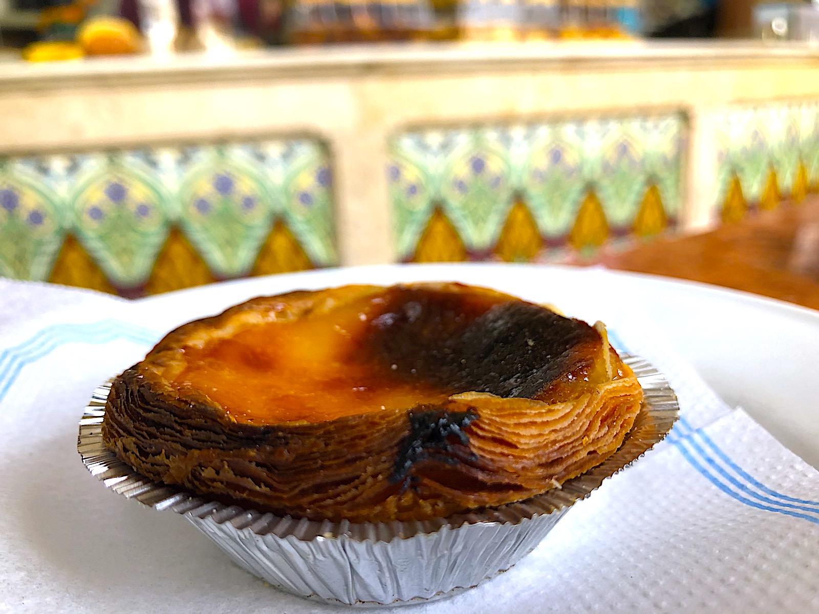 Pastelaria–Padaria São Roque pastel de nata