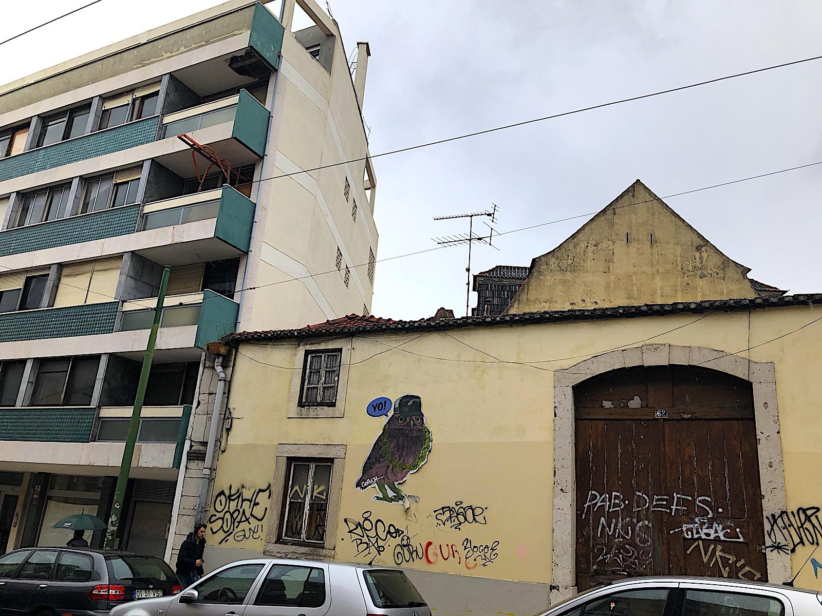 Principe Real graffiti wijk