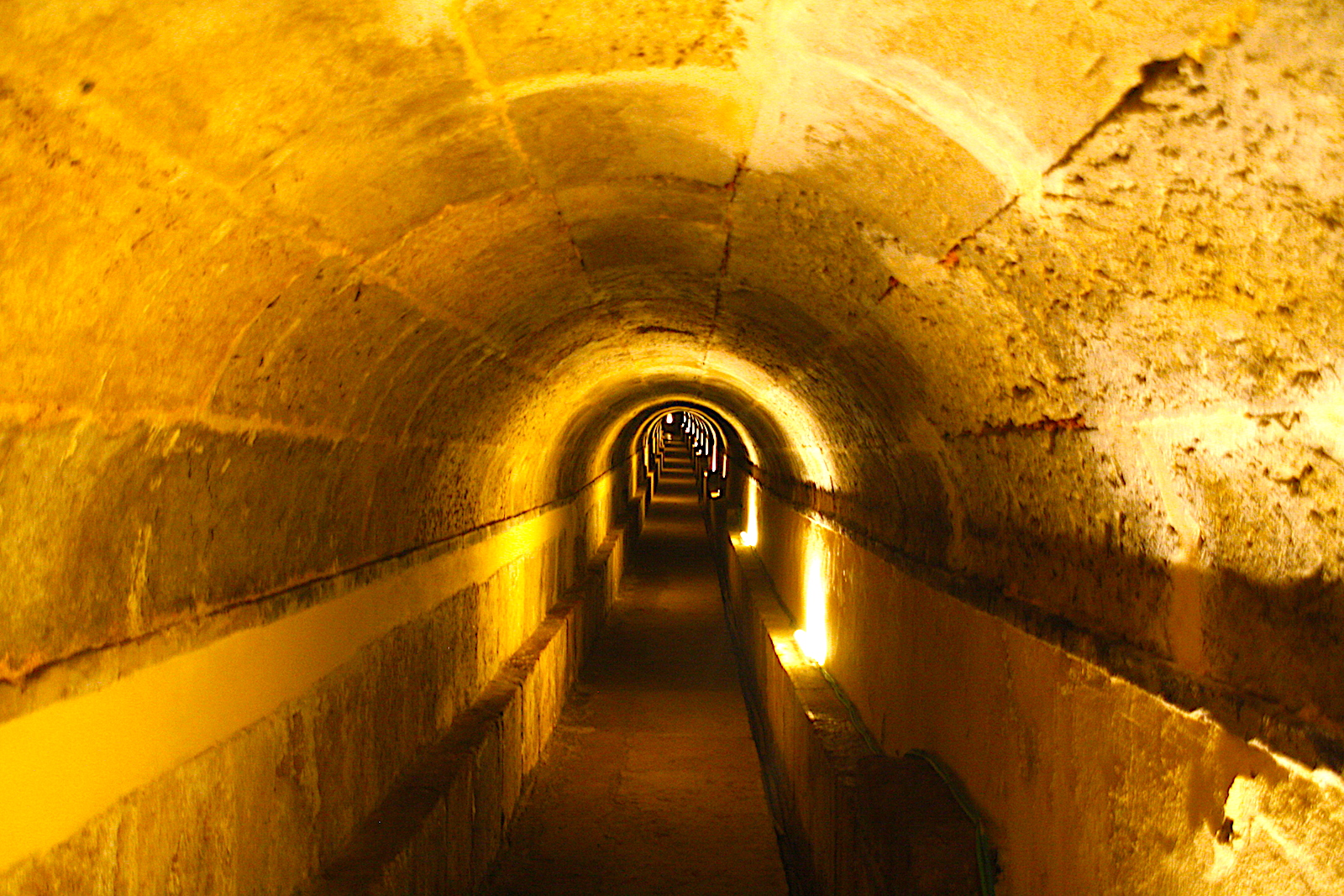 Reservatoria da patriarcal tunnel