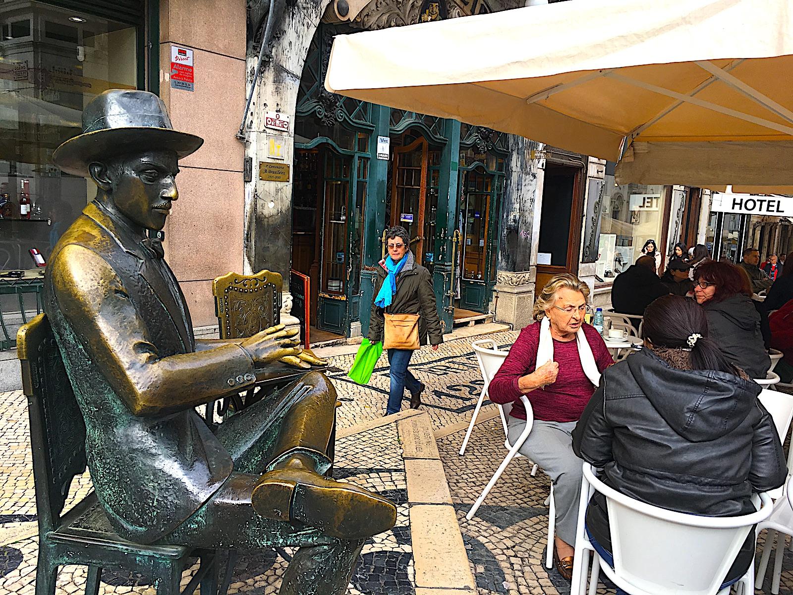 Cafe A Brasileira passo