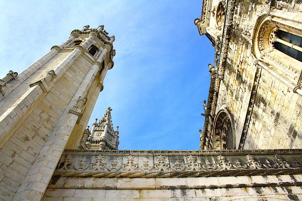 Mosteiro dos Jerónimos drie torens