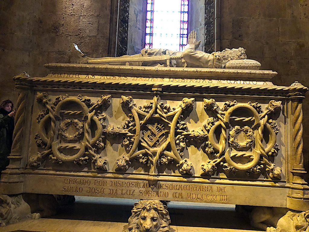 Mosteiro dos Jerónimos graf
