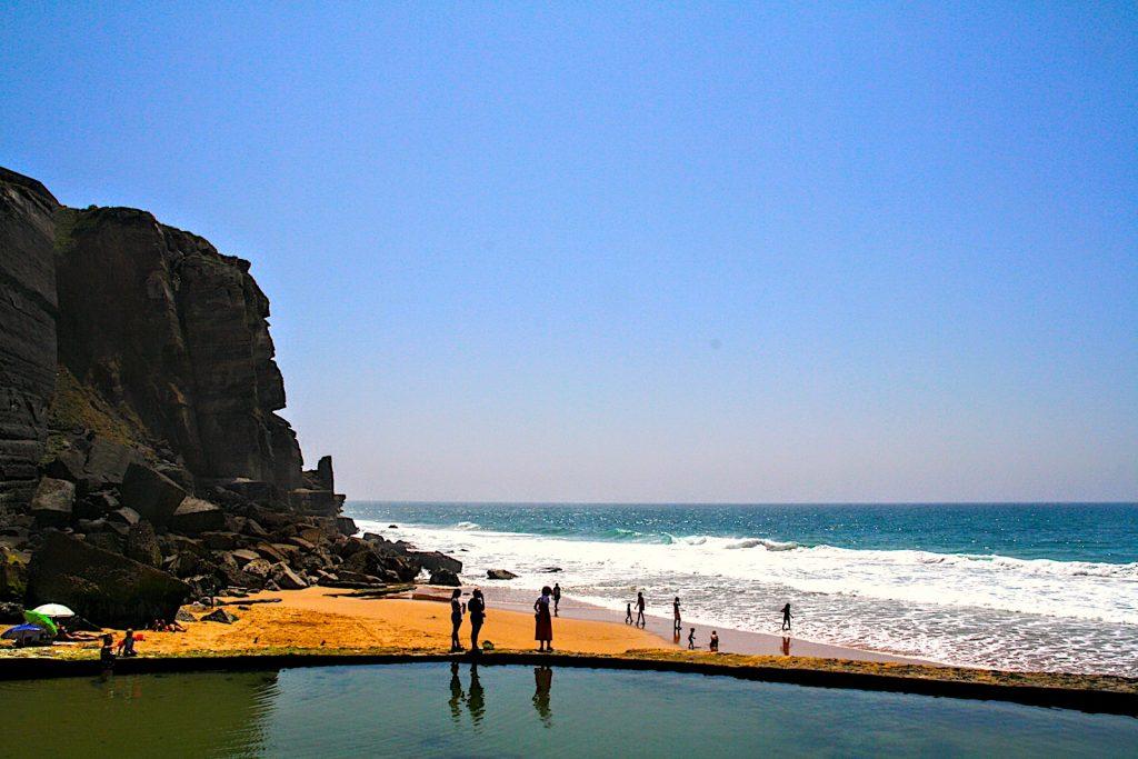 Azenhas do Mar Natürliches Schwimmbad