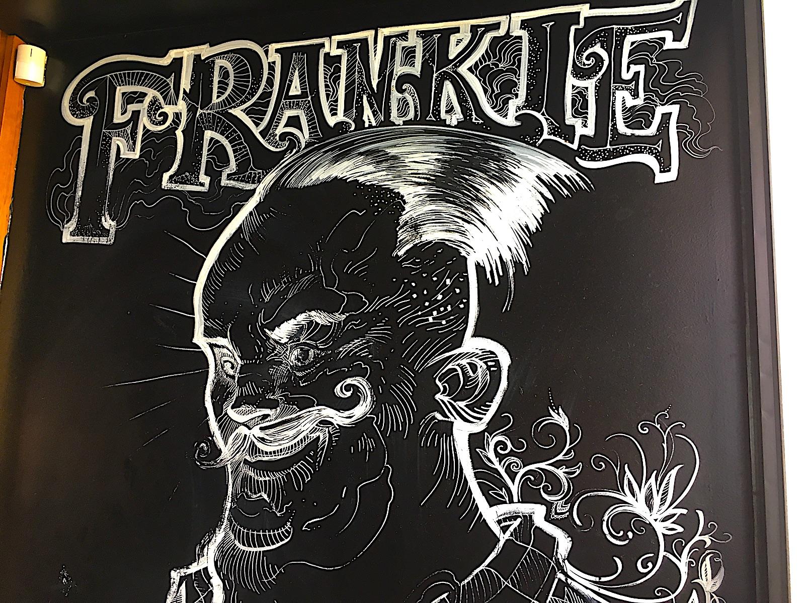 Frankie Hotdog Enthusiasten Versammeln Sich Hier We Heart