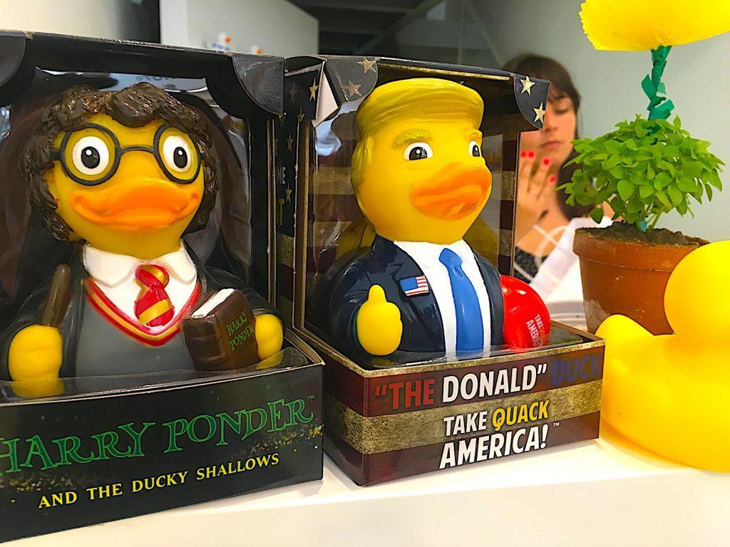 Lisbon Ducks naamgrapjes