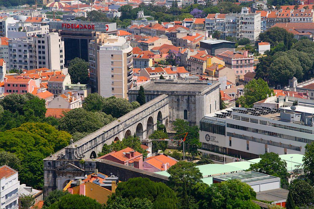 Amoreiras Panorama 360 View Mae d'Agua