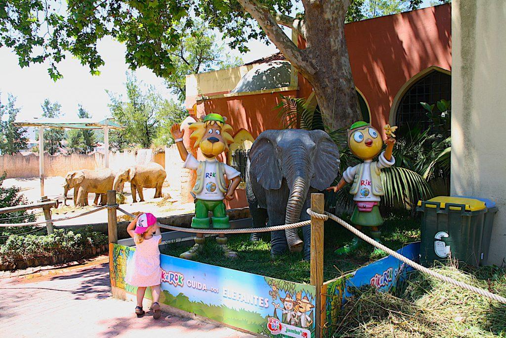 dierentuin lissabon sponsoring olifanten
