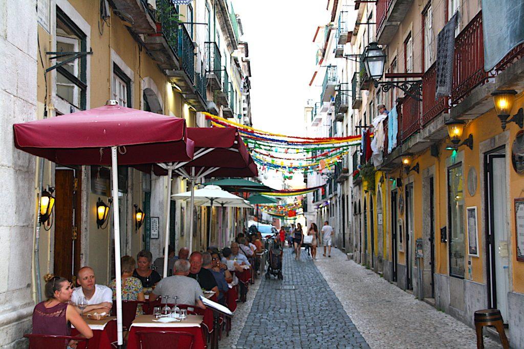 Bairro Alto restaurants met terras