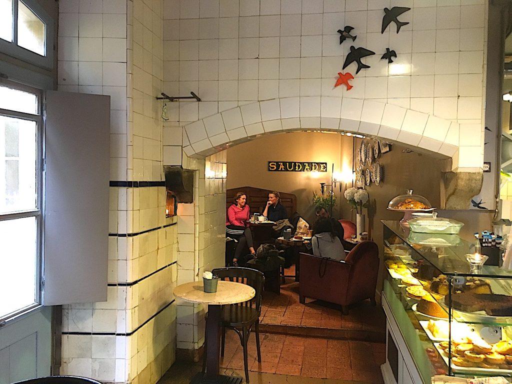 Cafe Saudade achterkamer