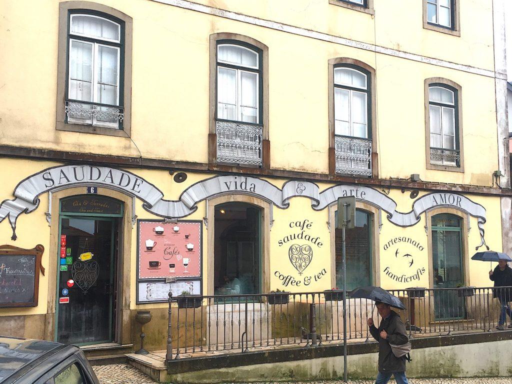 Cafe Saudade ingang