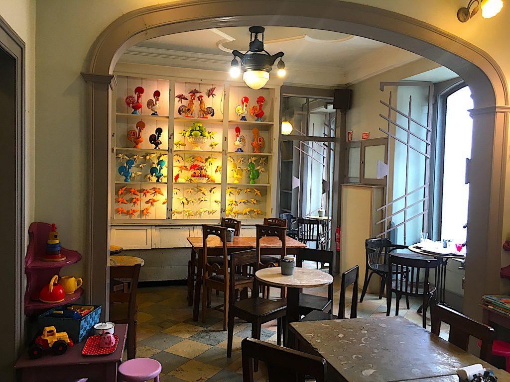 Cafe Saudade zijkamer