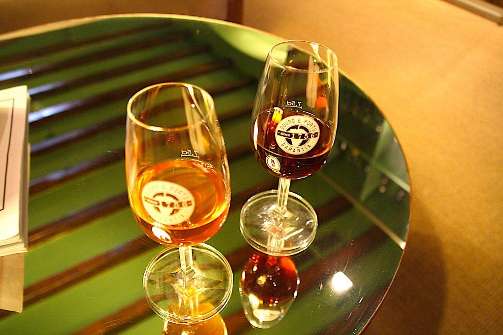 IVDP glazen met port