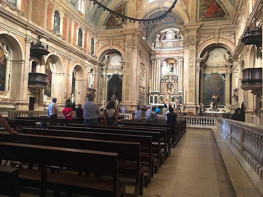Igreja Loreto binnenin