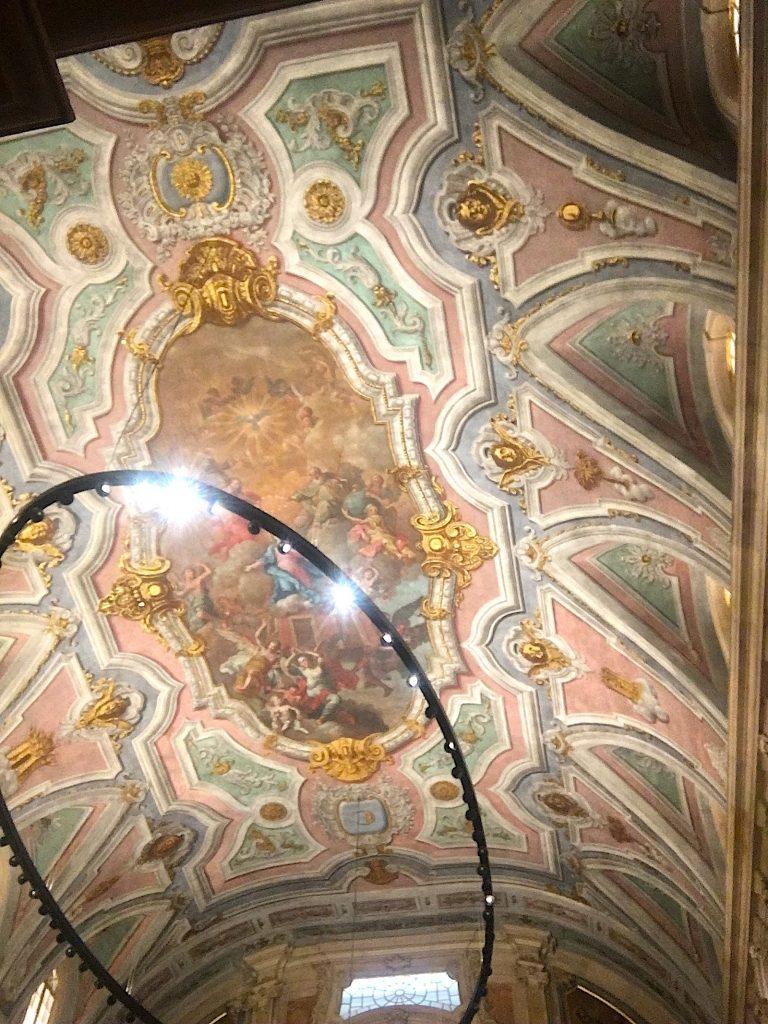 Igreja Loreto plafon