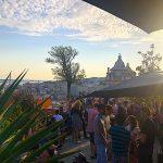 PARK rooftop uitzicht met terras