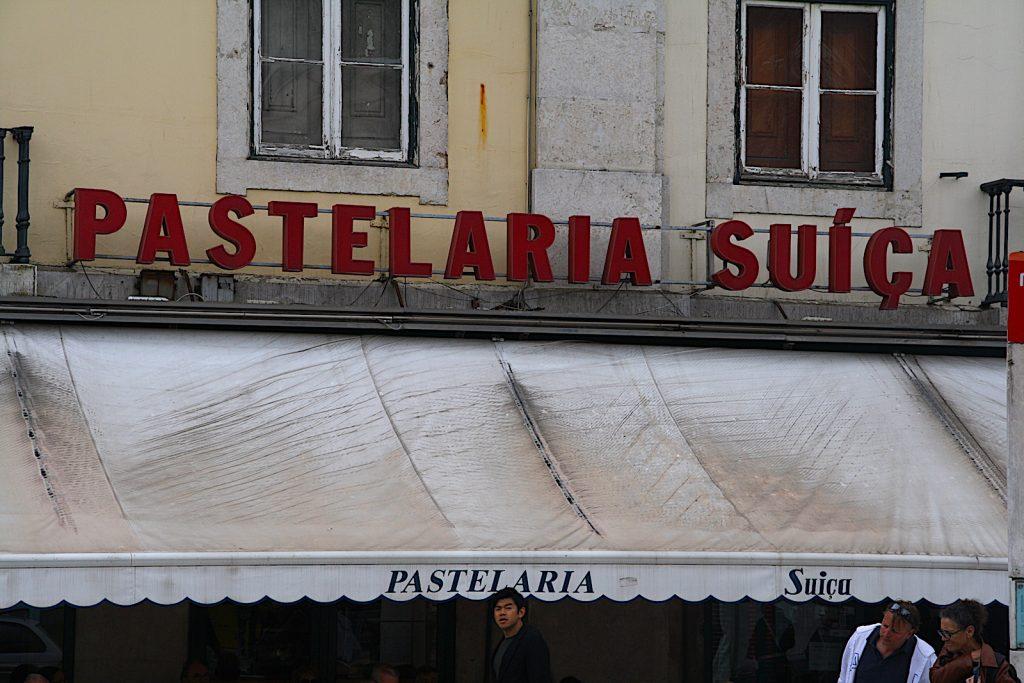Pastelaria Suica gevel