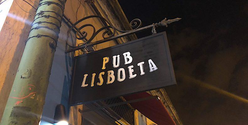 Pub Lisboeta bord