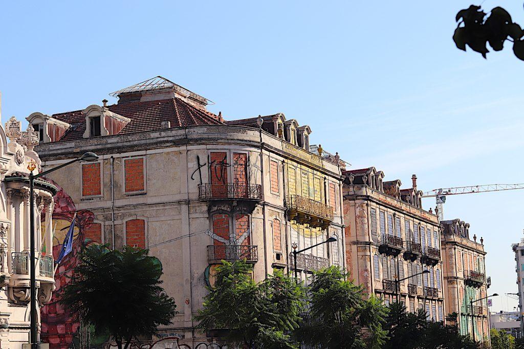 Avenida Fontes Pereira blok huizen