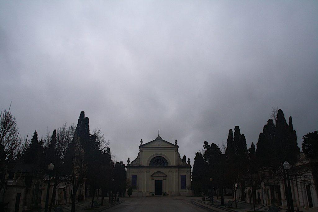 Cemitério dos Prazeres ingang