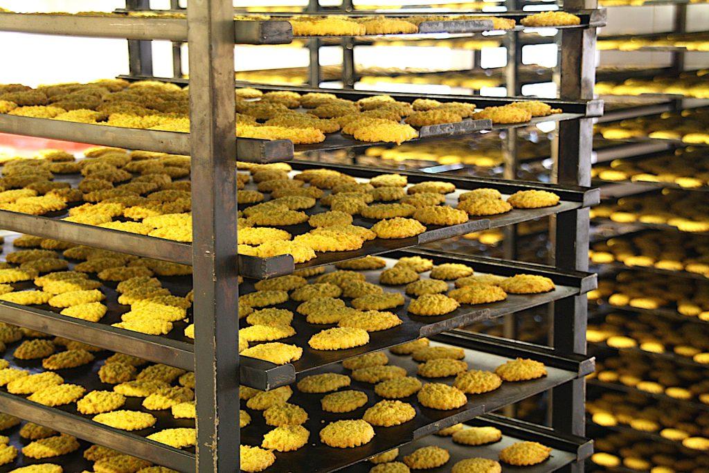 Fábrica de Queijadas - Recordação de Sintra koekjes uit de oven