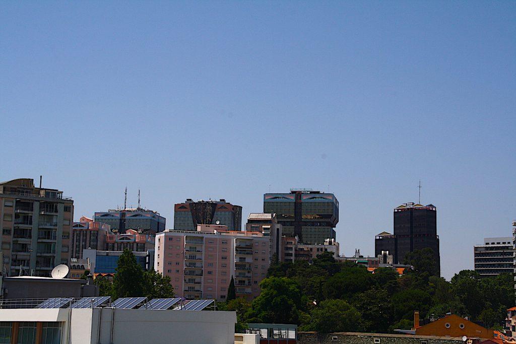 Centro Commercial Amoreiras - torens