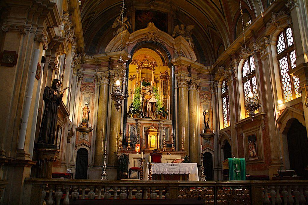 Igreja de Santo António de Lisboa - altaar